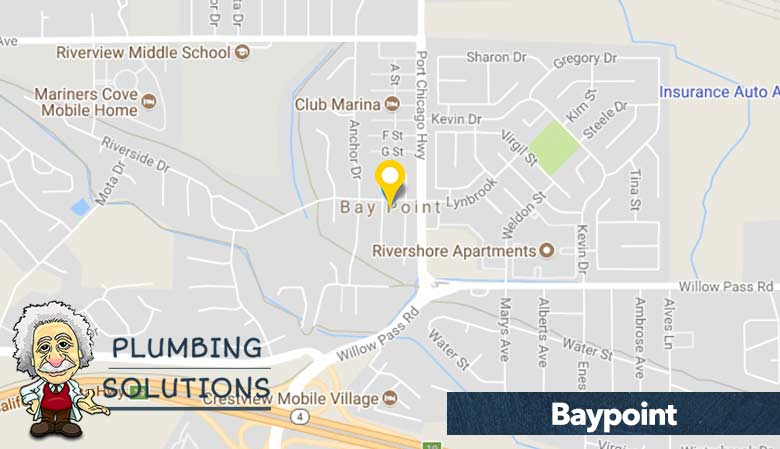 Plumbing Solutions - service in Bay Point